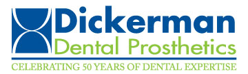 Dickerman Dental Prosthetics Header Logo